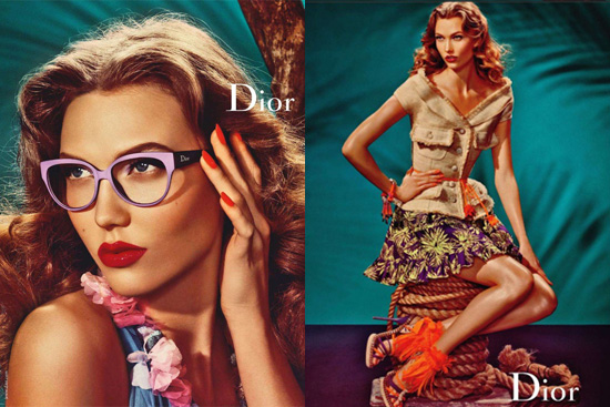 Fab Ad: Karlie Kloss for Dior
