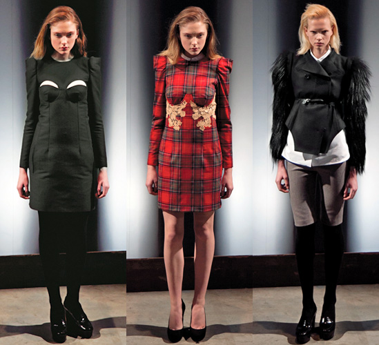 Carven Autumn Winter 2011 Collection by Guillaume Henry