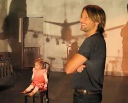 "Keith Urban's New Music Video For ""Without You"" With Wedding Footage to Nicole Kidman and Sunday Rose"