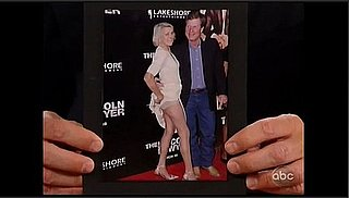 Matthew McConaughey's Mother Shows Some Leg on the Red Carpet