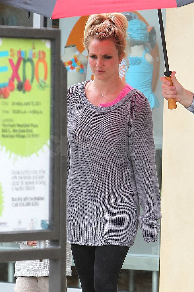 Britney Spears Avoids Rain in LA and Moves SF Performance to Dry Ground