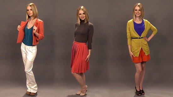 How to Wear Colorblock Clothes