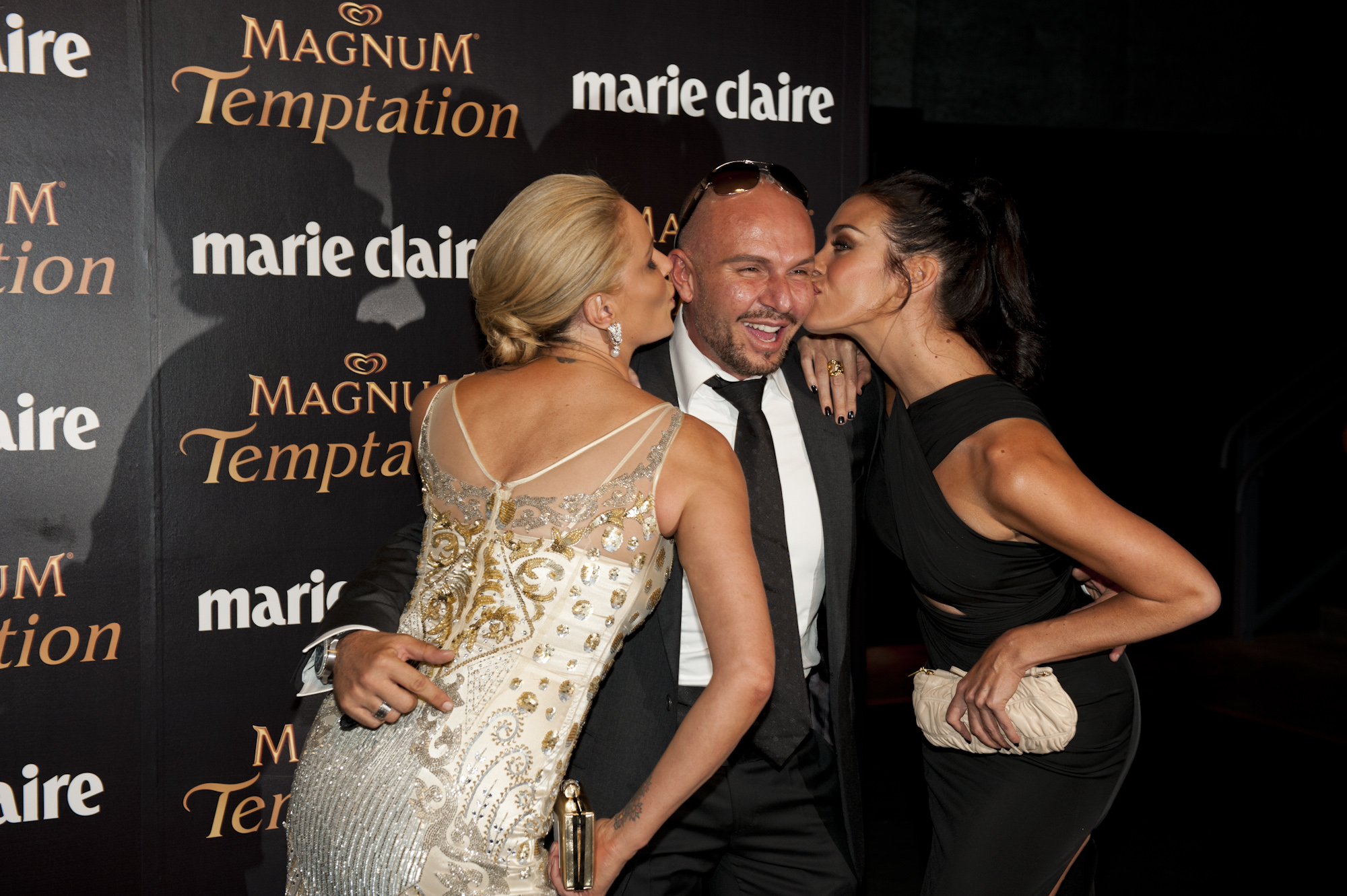 Charlotte Dawson, Alex Perry and Megan Gale