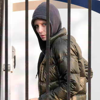 Pictures of Rooney Mara and Daniel Craig on the Set of The Girl With the Dragon Tattoo