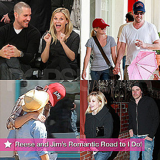 Pictures of Reese Witherspoon and Jim Toth Leading Up to Their March 2010 Wedding