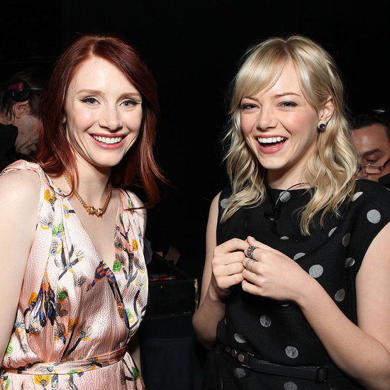 Pictures of Emma Stone and Bryce Dallas Howard Promoting The Help in Las Vegas