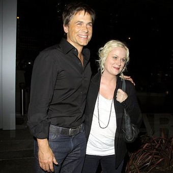 Pictures of Rob Lowe, Amy Poehler, and Will Arnett at BOA Steakhouse in LA