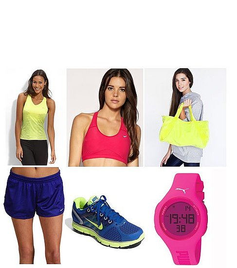 Colorful Workout Clothing and Gear 2011-03-29 15:10:42