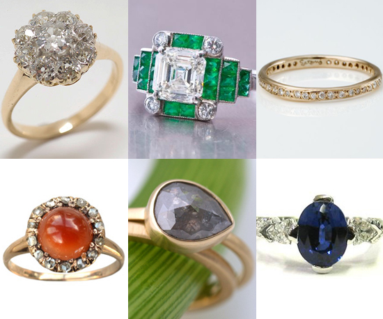 15 Ultra Special, Nontraditional Engagement Rings
