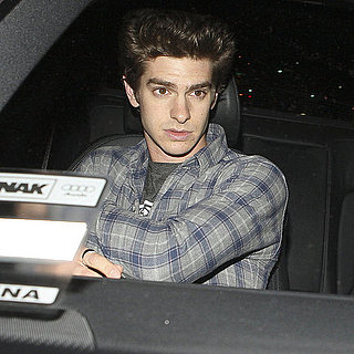 Pictures of Andrew Garfield and Shannon Woodward at Capo Restaurant in Santa Monica