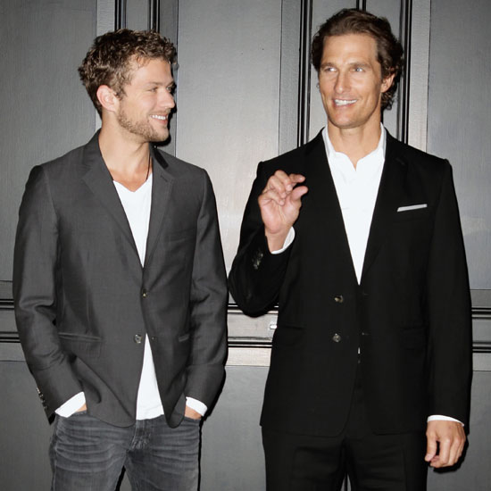 Pictures of Matthew McConaughey and Ryan Phillippe at Lincoln Lawyer Premiere in Berlin