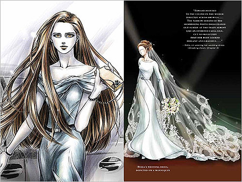 First Look at Bella's Wedding Dress