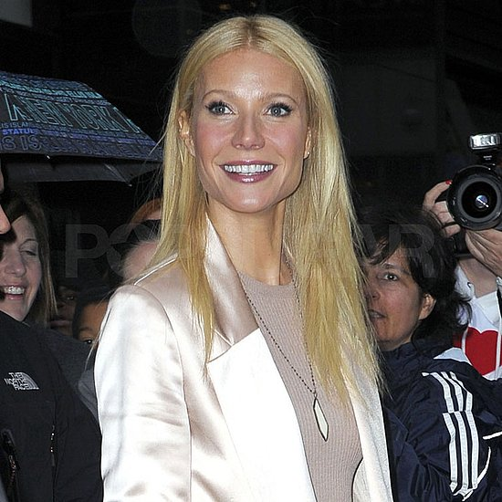 Pictures of Gwyneth Paltrow at Good Morning America