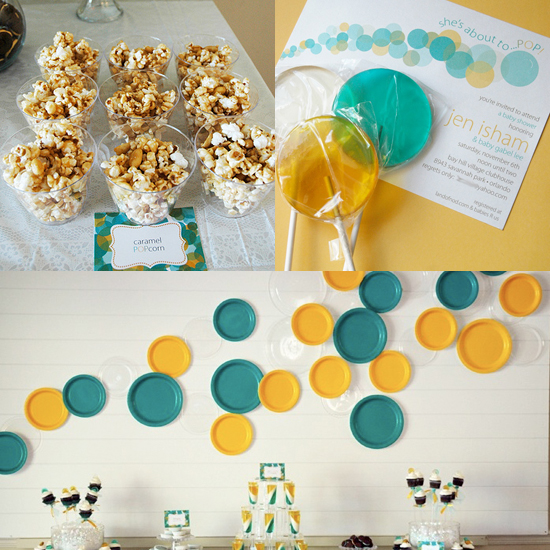 She's About to Pop Bubble-Themed Baby Shower | POPSUGAR Moms