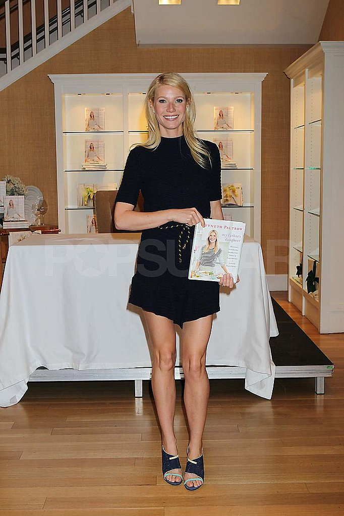 Gwyneth Paltrow Makes a Short and Sweet Stop For Her Cookbook