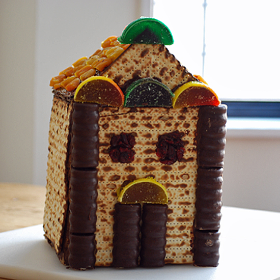 A Matzo House Craft For Kids For Passover