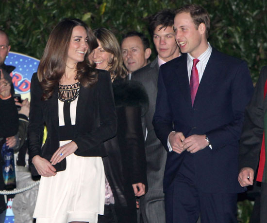 Prince William and Kate Middleton stepped out publicly in December 2010 for their first time since announcing their engagement.