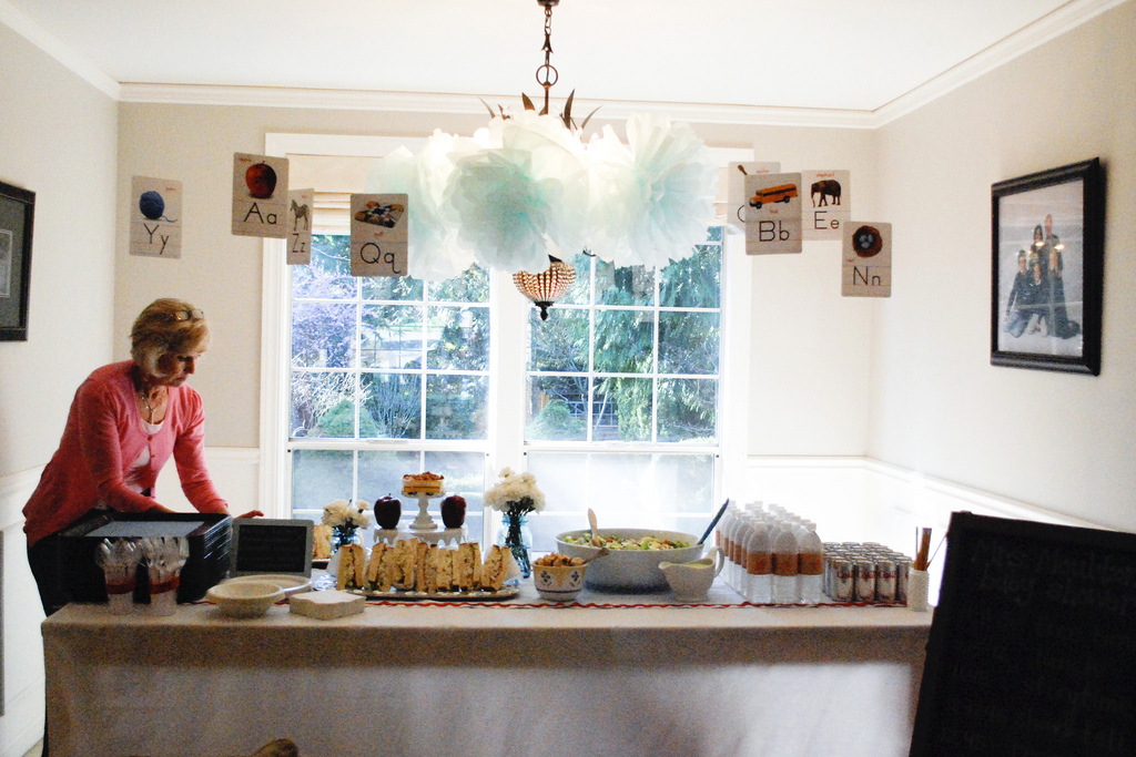 A Back to School Baby Shower For Teacher and Mama-to-Be