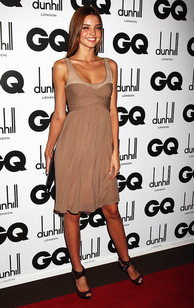September 2008: GQ Men Of The Year Awards in London