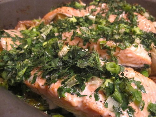 Easy Roast Salmon Recipe