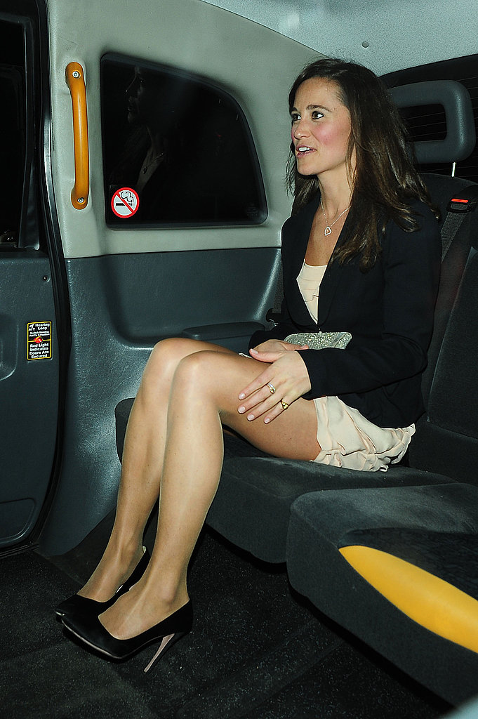 Kate Middleton's Sister Pippa Celebrates Another Engagement in London!