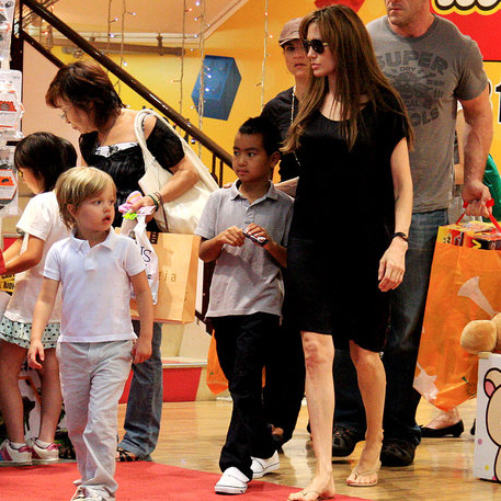 How Much Do Angelina Jolie and Brad Pitt Spend on Their Children?