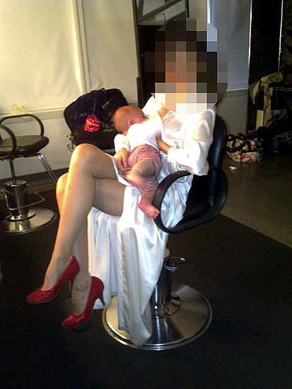 Guess the Breastfeeding Celebrity Mom
