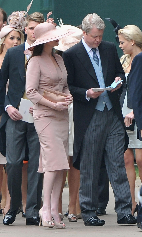 Princess Diana's Brother, Charles Spencer, Arrives at the Royal Wedding!