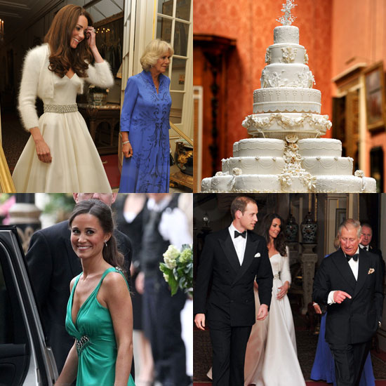 Slide Show of Royal Wedding Evening Events