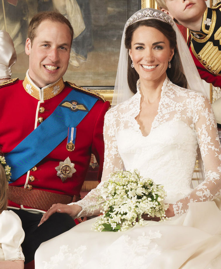 Prince William and Kate Middleton Royal Wedding Pictures ...