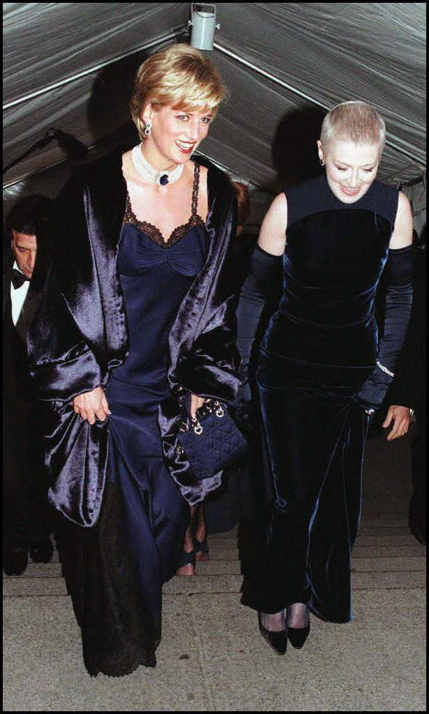 Princess Diana, Liz Tilberis — 1996