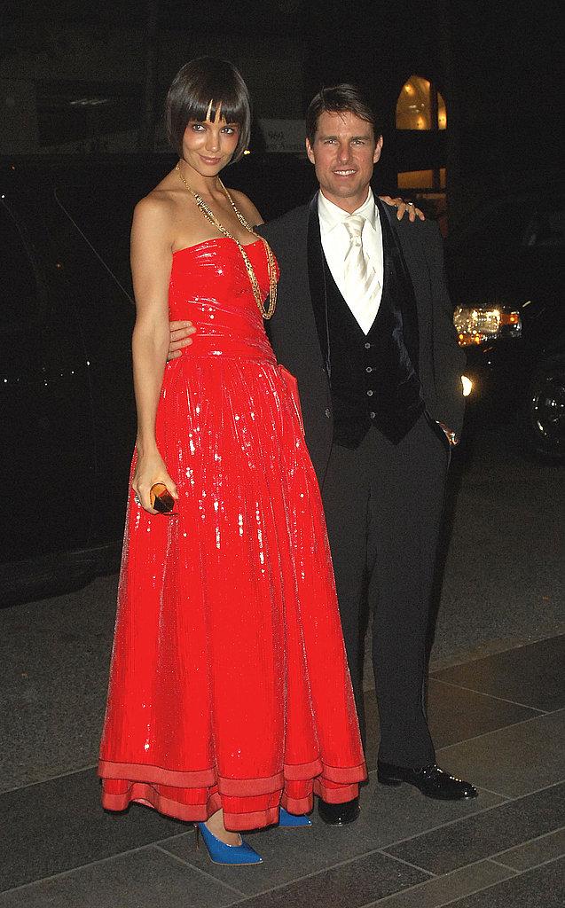 Katie Holmes, Tom Cruise — 2008