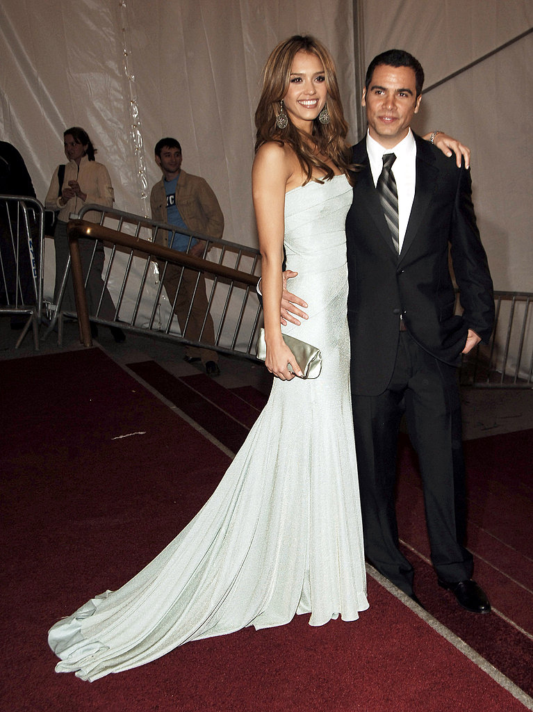 jessica alba and cash warren � 2006 75 unforgettable met