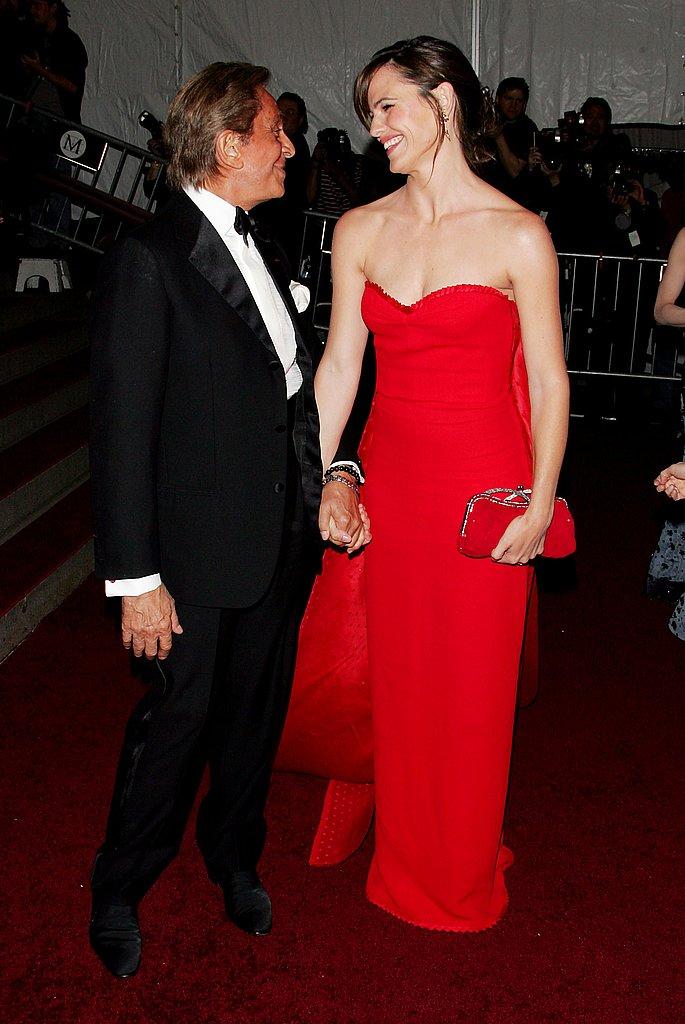 Valentino and Jennifer Garner —2007