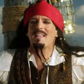 Jack Sparrow SNL Digital Short With Michael Bolton and The Lonely Island