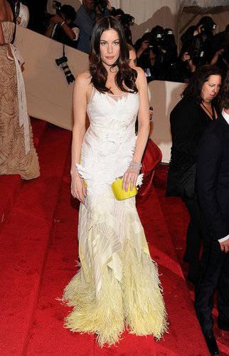 Liv Tyler in Givenchy couture