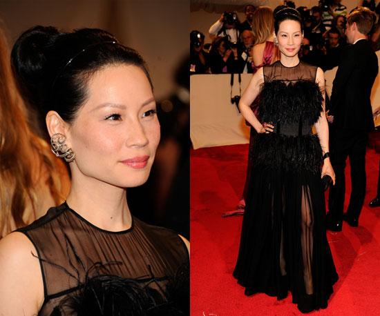 Lucy Liu Wears Vionnet at 2011 Met Gala
