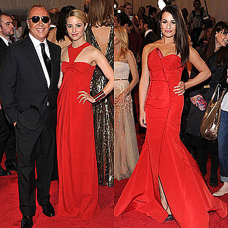 Lea Michele and Dianna Agron 2011 Met Gala Pictures 2011-05-02 18:55:07