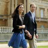 Video: Kate Middleton, Prince William and Prince Harry After Royal Wedding Ceremony