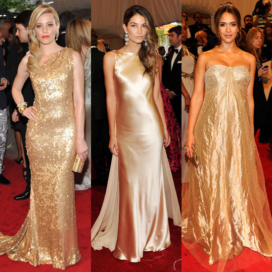 Gold Dresses at the Met Gala 2011 2011-05-03 07:39:05