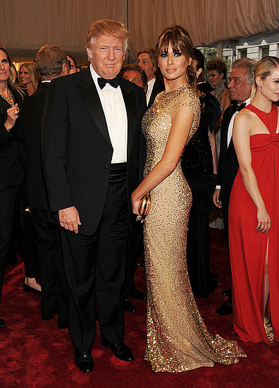 "Donald Trump and Melania Knauss-Trump(2011 Met Gala...""Alexander McQueen: Savage Beauty"")"