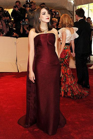 """Bee Shaffer (2011 Met Gala...""""Alexander McQueen: Savage Beauty"""")"""