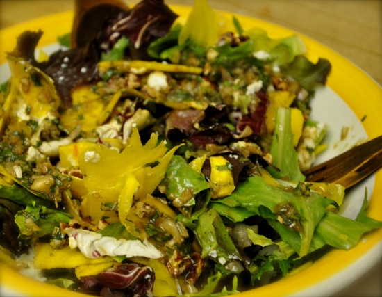 Green Salad With Beets