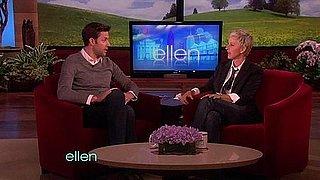 Video of John Krasinski on Ellen DeGeneres on How He Met Emily Blunt