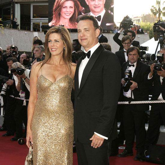 Tom Hanks and Rita Wi