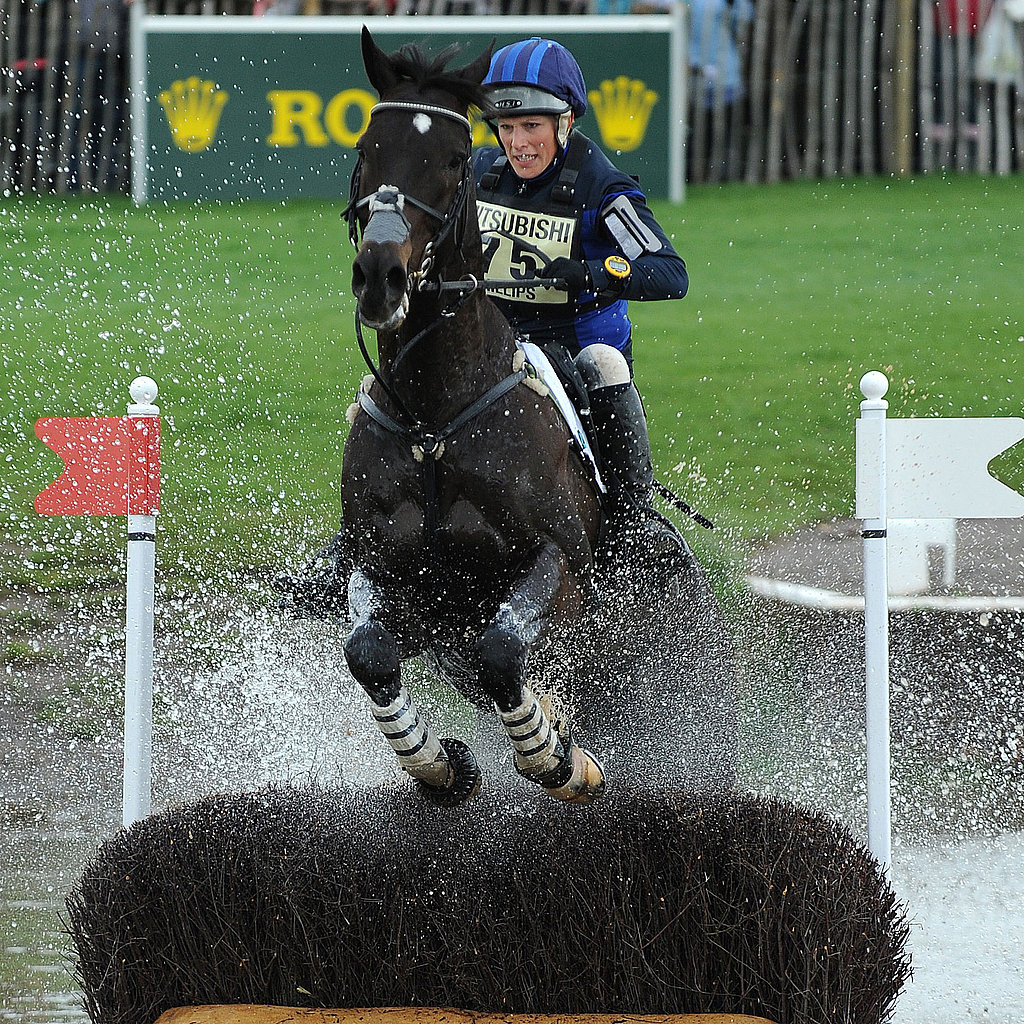 She showed off her skills at a trial in 2011.