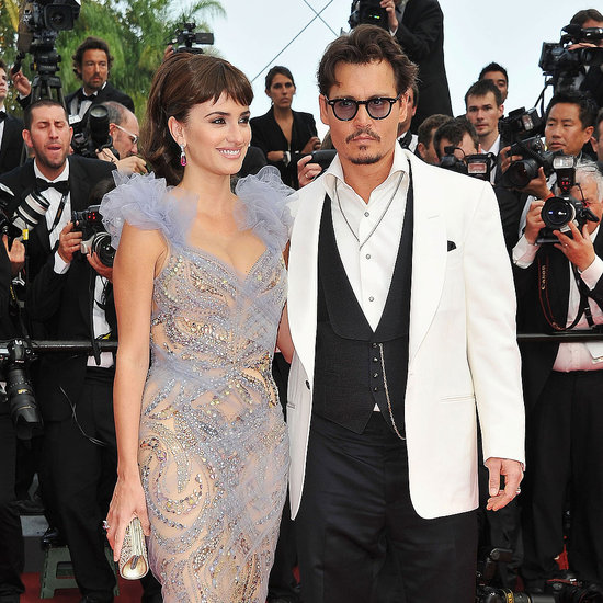 Penelope Cruz and Johnny Depp at Pirates Premiere 2011 Cannes Film Festival Pictures 2011-05-14 10:21:56