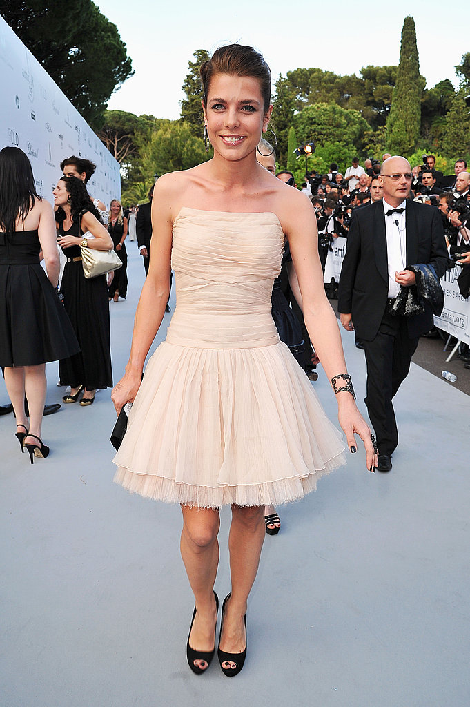 Charlotte Casiraghi in Chanel couture