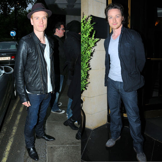Michael Fassbender Pictures in London