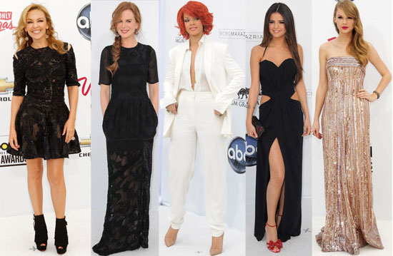 Best Dressed Celebrities at the 2011 Billboard Awards: Selena Gomez, Rihanna, Taylor Swift, Kylie Minogue or Nicole Kidman?